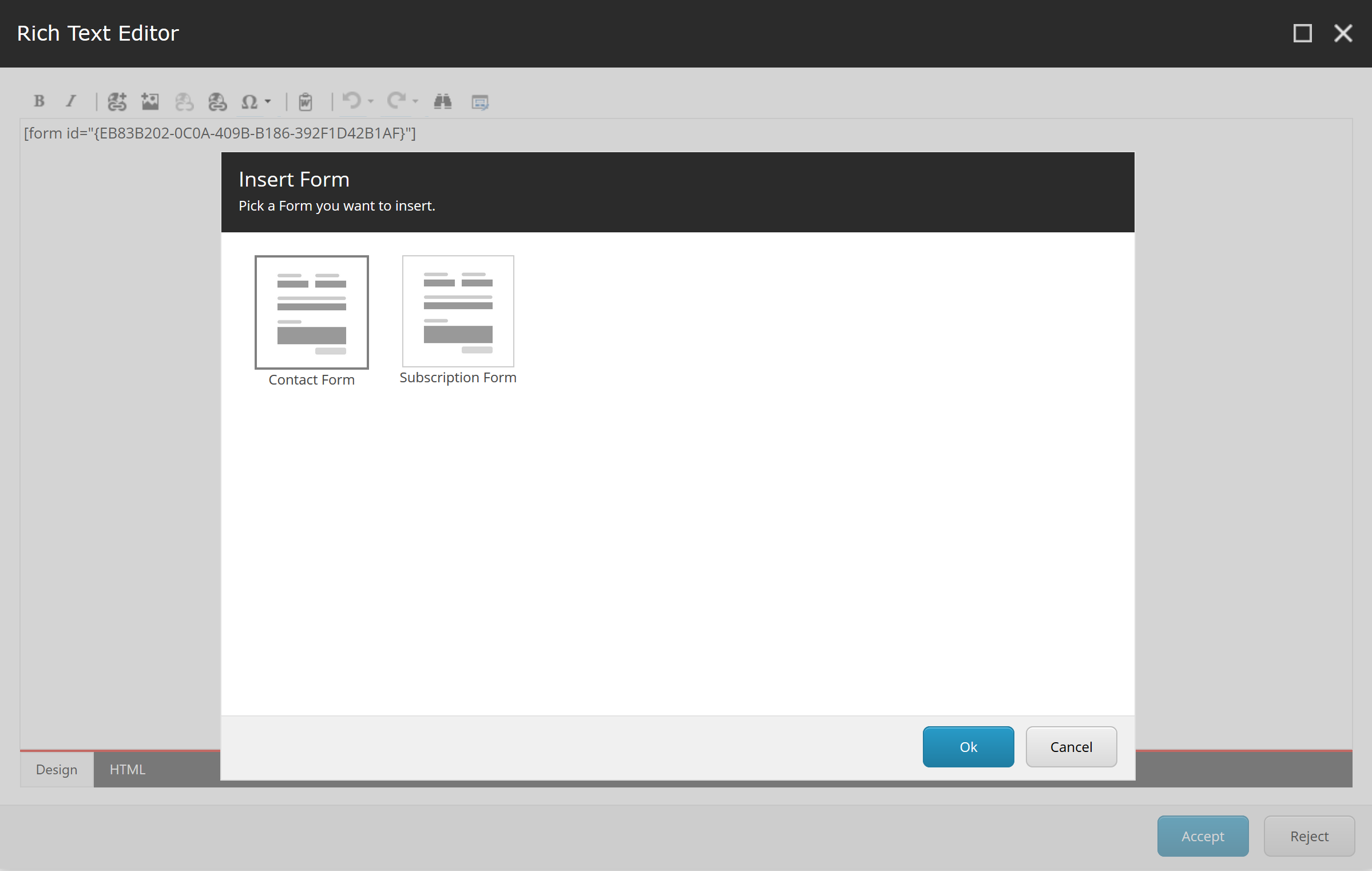 Sitecore 9 Inline Forms